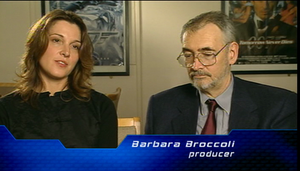 Barbara Broccoli producer Michael G. Wilson