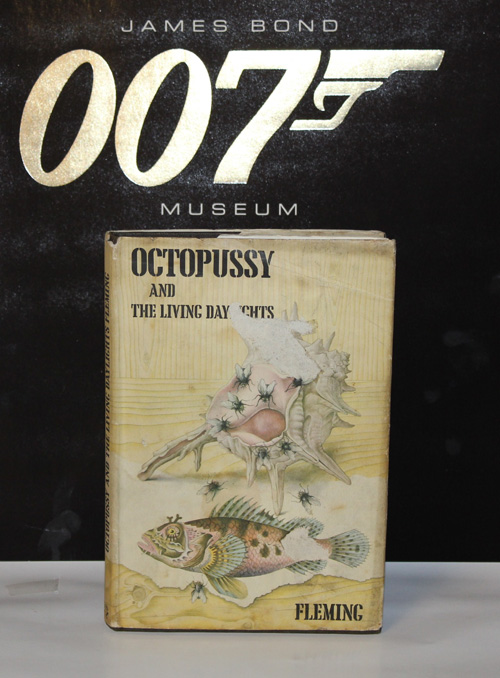 FIRST EDITION 1966 IAN FLEMING JAMES BOND OCTOPUSSY AND THE LIVING DAYLIGHTS
