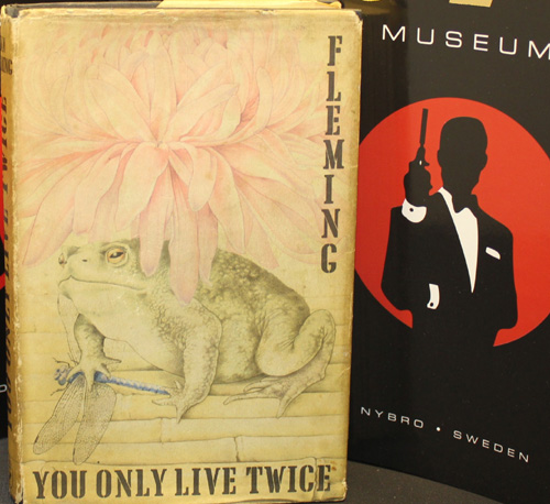IAN FLEMING 1ST EDITION YOU ONLY LIVE TWICE
