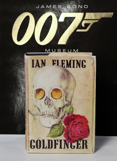 FIRST EDITION 1959 IAN FLEMING JAMES BOND GOLDFINGER