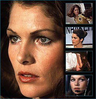 Lois Chiles - Dr Holly Goodhead.  Dr Holly Goodhead played by Lois Chiles is the main Bond Girl of Moonraker. Corinne Dufour tells Bond where he can find Holly who will continue the tour around the Moonraker complex.