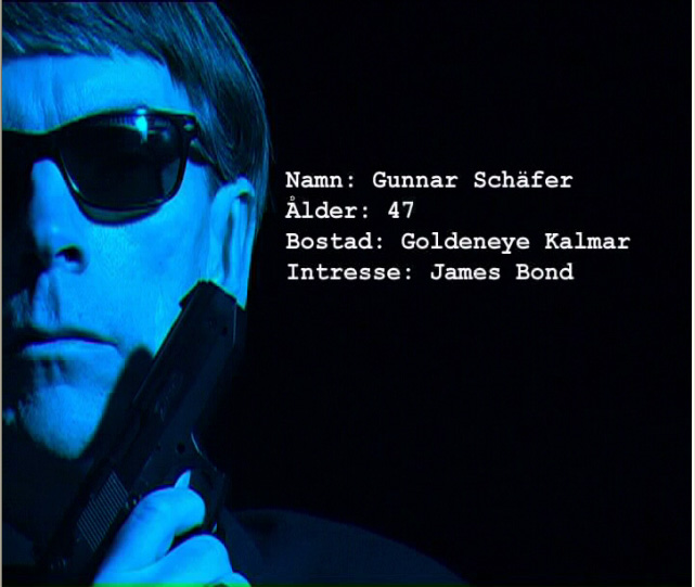 Gunnar Schäfer logo  James Bond alias Gunnar Schäfer