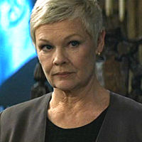 Judi Dench as M Filmography