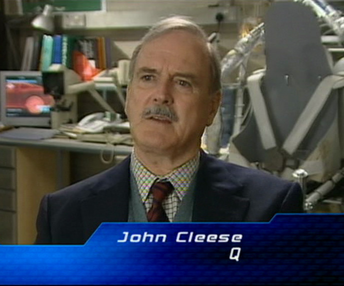 John Cleese  Q in Die Another Day 2002