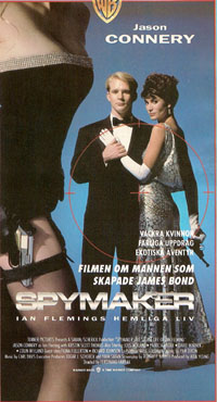Spymaker - The Secret Life Of Ian Fleming (1990) VHS ~ Jason Connery