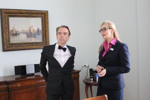James Bond with Adéla Dvorácková Grandhotel Pupp