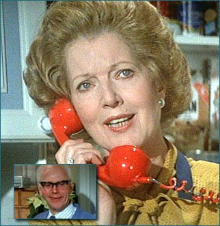 Janet Brown as Prime Minister Margaret Thatcher, who appears in the closing scene.