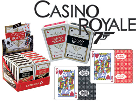 Casino Royale Poker Deck  As seen in the movie!