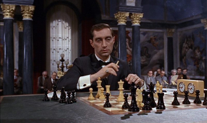 Vladek plays a villain named Kronsteen (or Number 5). He is a member of S.P.E.C.T.E.R., a criminal organization. He is in charge of the plan to steal a decoder from the Russians with the use of British and Soviet agents.