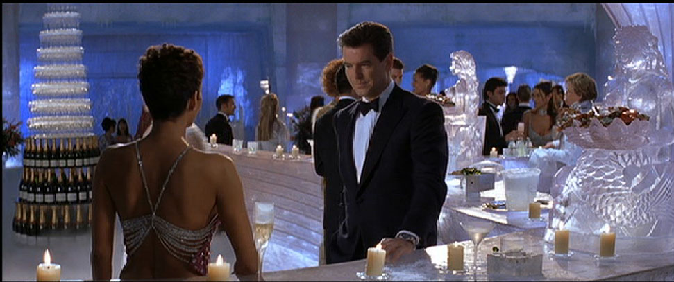 "Arla Plast AB has supplied a large quantity of special sized GRIPHEN™, PETG sheets to the Thompson Plastics Group in the UK to make the ""ice"" panels as a backdrop for the latest James Bond movie ""Die Another Day""."