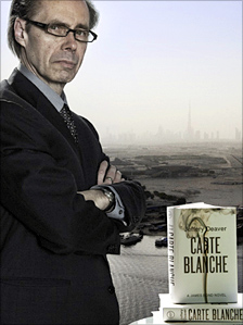 James Bond book,  Carte Blanche, by Jeffery Deaver