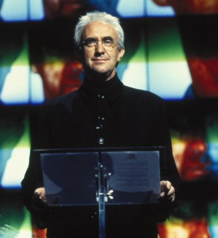 JONATHAN PRYCE stars as the megalomaniacal media baron Elliot Carver, who hatches a deviant plot to start World War III to garner ratings for his new global satellite news network.