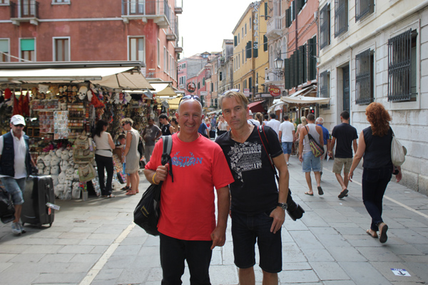 Ettore and James Bond in Venice