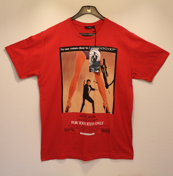 James Bond 007 T-shirt For Your Eyes Only 1981