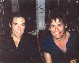 LICENCE TO KILL 1989  Lars Lundgren withTimothy Dalton  James Bond