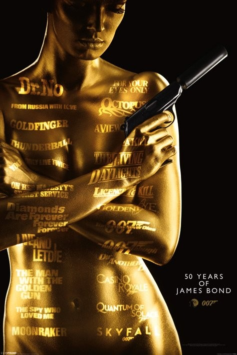 James Bond - 50th Anniversary Movie Poster