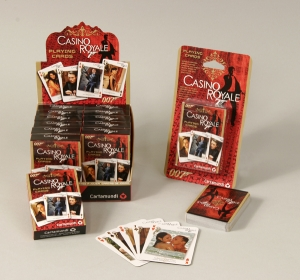 Casino Royale Movie stills deckStunning playing cards with exclusive images of the new Casino Royale movie!