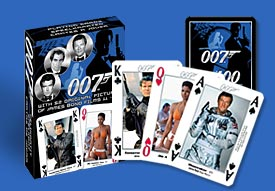 PCO177 007 cards featuring 52 original pictures of James Bond from films 11 - 20