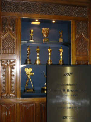 The Awards Cabinet - Pinewood Studios