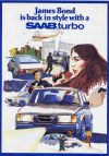 SAAB promotional poster.