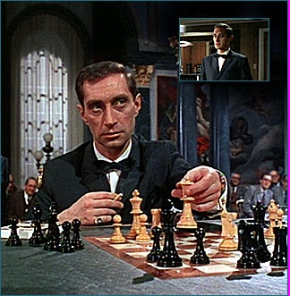 Vladek plays a villain named Kronsteen (or Number 5). He is a member of S.P.E.C.T.E.R.