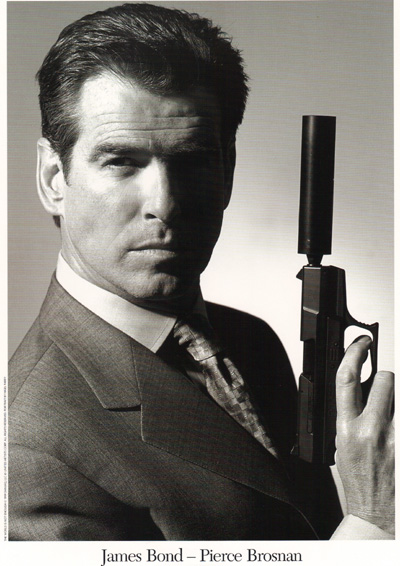 James Bond PIERCE BROSNAN